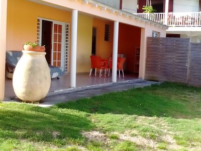 Photo for DOWN OF F2 VILLA furnished, with living room, air-conditioned bedroom, fitted kitchen