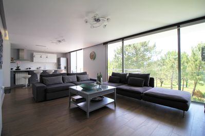 Living and dining open space