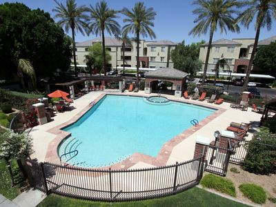Photo for **Tuscan Poolside Getaway**Phoenix Midtown Gated Complex**Pool View**Remodeled