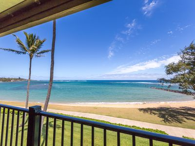 Beachfront Condo Top Floor in A/C  W/D Pono Kai Resort Coconut Coast Kapaa Kauai