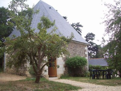 Photo for Renovated old chapel at the vineyard