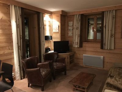Photo for High standing 2 bedroom apartment in the old town of Val d'Isère