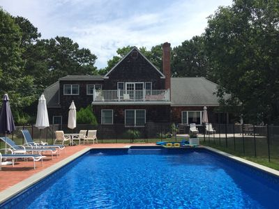 Photo for Beautiful Family Home in Wainscott w/Pool Fence, Close to Beach and Shopping