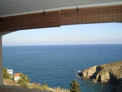 Photo for This lovely charming T2 located in Banyuls sur mer, open view