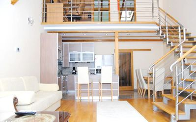 Photo for Homerez last minute deal - Spacious apt - 7 km from the slopes