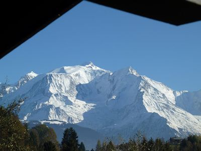 Photo for CORDON - APART. COSI T3 67 m² - MONT BLANC VIEW -