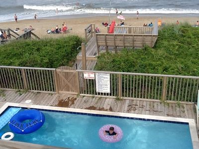 Photo for Sitting on Top the Oceanfront New 5bdr 5.5 Bath Home, Pool, Elevator.  Duck, NC