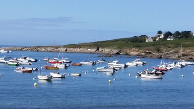 Photo for Apartment with garden - sea Groix