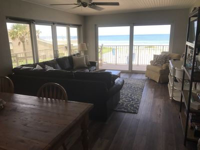 Photo for Beautiful Corner Unit ~ Ocean / Pool Front Condo - Newly Renovated Fall '19.