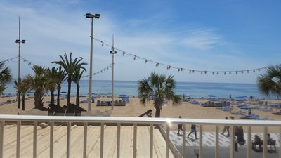 Photo for Flat in Benidorm Renovated Frontline with Terrace