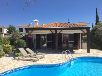 Photo for Villa Lamda A Beautiful Modern Bungalow in Tranquil Peaceful Pissouri Village.