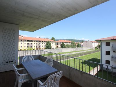 Photo for Stunning Apartment up to 7 Guests - Terrace with View - Garage - Washing Machine