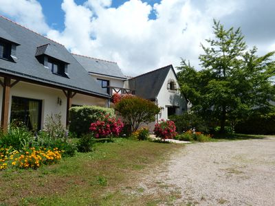 Photo for Spacious and quiet property on the Gulf of Morbihan