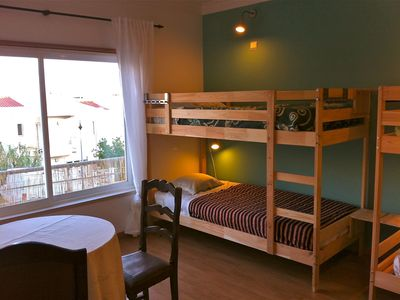 Photo for 6 Bed dorm: Ericeira Chill Hill Hostel & Private Rooms (rnal No. 4514 / AL)