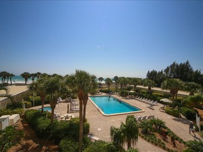 Photo for Horizons West #109 is a Beautifully Renovated Siesta Key Beachfront Condo