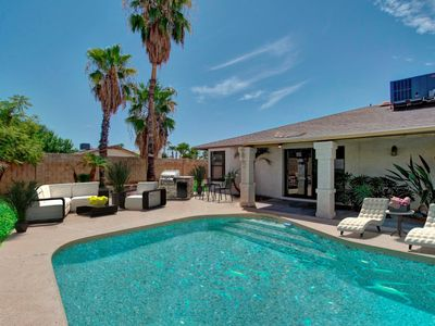 Photo for Spring Discount~WALK to Kierland Area~North Scottsdale LUXURY HOME W/HEATED POOL