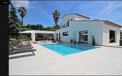 Photo for Newly renovated modern 4 bedroom family Villa with sea view  in Valbonne