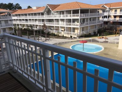 Photo for Bassin d'Arcachon The Teste Apartment T2, sleeps 4, collective swimming pool