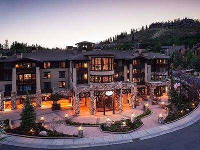 Photo for Chateaux Deer Valley - Luxury 1 Bed - 25% Off!