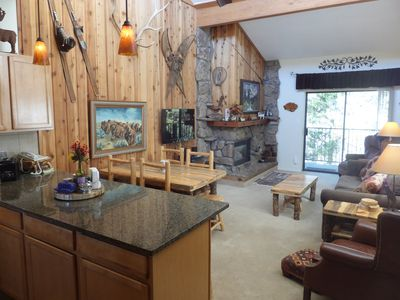 Photo for Updated Beaver Village Condo * Top Floor/End Unit * In Town * Free Ski Shuttle