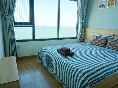 Photo for Seaholic Apartment with balcony sea view