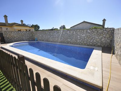 Photo for villa with private salt water pool