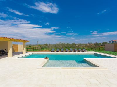 Photo for Villa Dragash is ideally set on a 5000 m2 large plot with big pool.