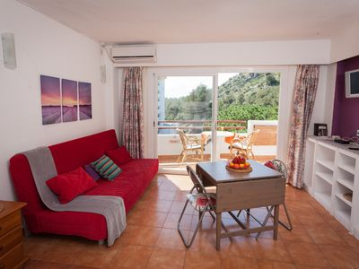 Photo for apartment in port d'Alcúdia with pool and a walk from the beach