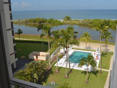 Photo for Awesome Island Reef 6th Floor Gulf Front 2B/2B Condo,Beach Front,Fully Renovated