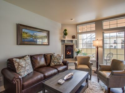 Photo for River's Echo Downtown Leavenworth Condo Vacation Rental, Mountain View for 6