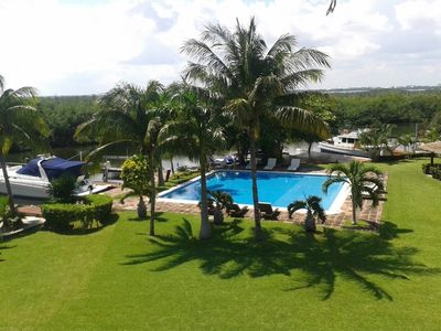 Photo for Country house in Cancún with Internet, Pool, Air conditioning, Lift (646020)