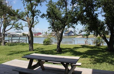 Photo for Great fishing spot right on a canal leading to Copano Bay.  Wonderful 4 Bedroom and 3 bathroom home