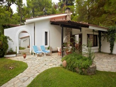 Photo for 3BR Villa Vacation Rental in Sani, Kassandra