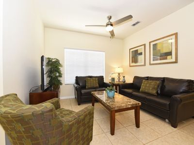 Photo for CHARMING 2-BED TOWNHOME w/Resort Amenities, 1.5 miles From Disney