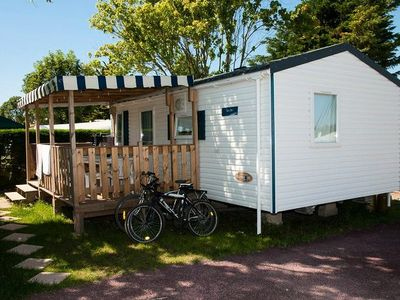 Photo for Camping Guichardière *** - Mobile home Comfort 3 Rooms 4/6 People +