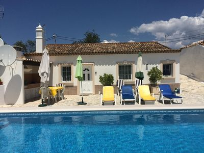 Photo for Typical house with private swimming pool to rest in the authentic Algarve - Free wifi