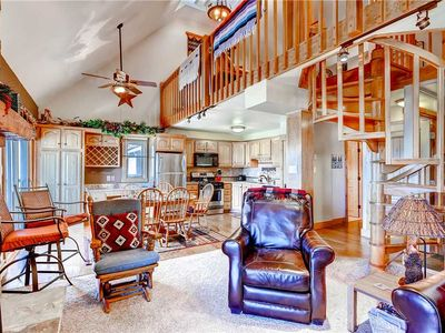 Photo for 2 Bedroom + Loft Mtn Condo w/Beautiful Valley Views & Private Grill!