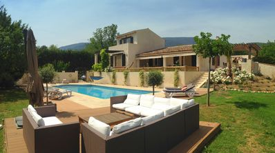 Photo for Well Equipped Beautiful Provencal Villa with Private Garden and Pool