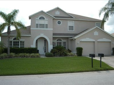 Photo for 6 Bedroom Executive Lakeside Home with Pool in Gated Golf Community