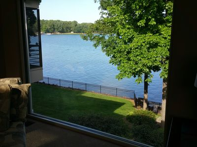 Lake view from Great room upstairs