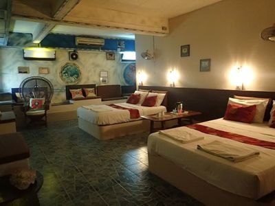 Photo for Koh Tao, Apt 65m², Private terrace, 1-7 Pers.