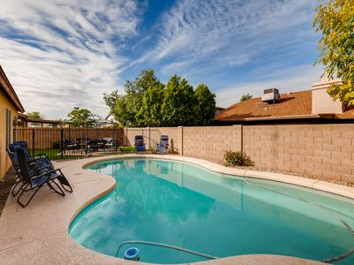 Photo for CASA CHILLOTTA~ WALK TO GLENDALE STADIUM WITH PRIVATE POOL+FOOSBALL~ Sleeps 14!