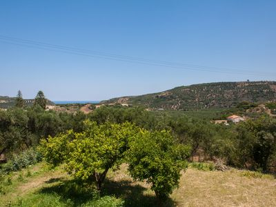 Photo for Country House In The Hills Of Crete Near the Sea - Special rates - week & month