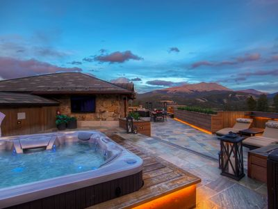 Photo for The Breck Chateau Experience: ultimate rooftop patio, ski in/ski out + more!