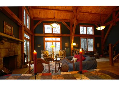 Photo for UNBEATABLE LOCATION! Secluded yet accessible! Lake Burton. Handcrafted elegance!