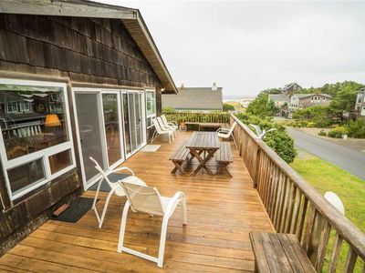 Photo for Enjoy This Spacious Two-Story With Elevated Deck and Ocean and Mountain Views