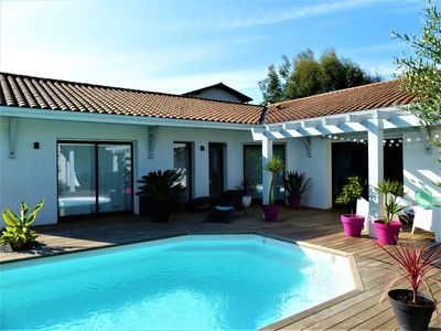 Photo for beautiful villa with pool in BIARRITZ / BIDART