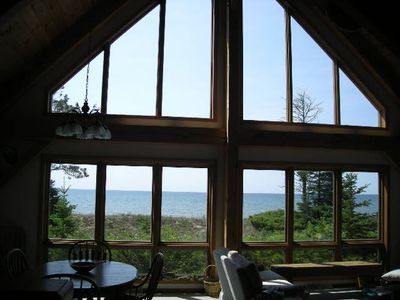 Photo for Custom Lake Michigan Home With Sandy Frontage And Beautiful Views