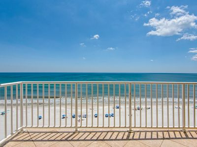 Photo for Sans Souci unit 704 - Top Floor Gulf Front 2 Bedrm. Free WiFi. Swimming Pool