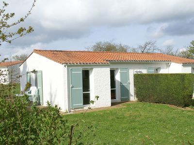 Photo for Semi-detached bungalow with microwave, in the great Vendée